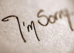 Sul perdono, sulle scuse, sui capelli e sullescarpe.